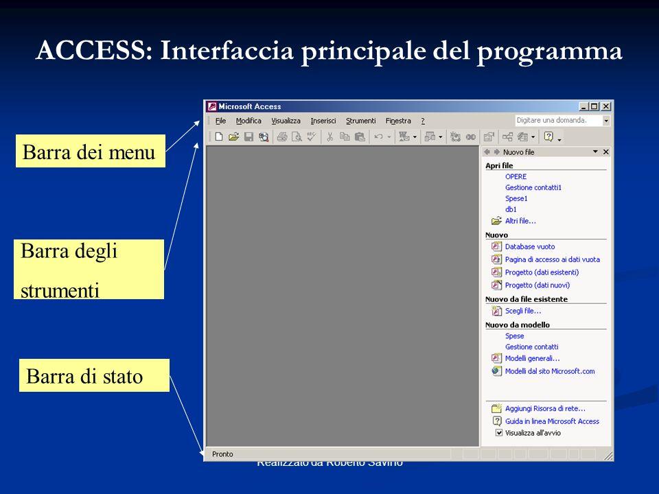 Microsoft ACCESS Programma contenuto nel pacchetto Office; Programma contenuto nel pacchetto Office; Database Relazionale; Database Relazionale; Inter
