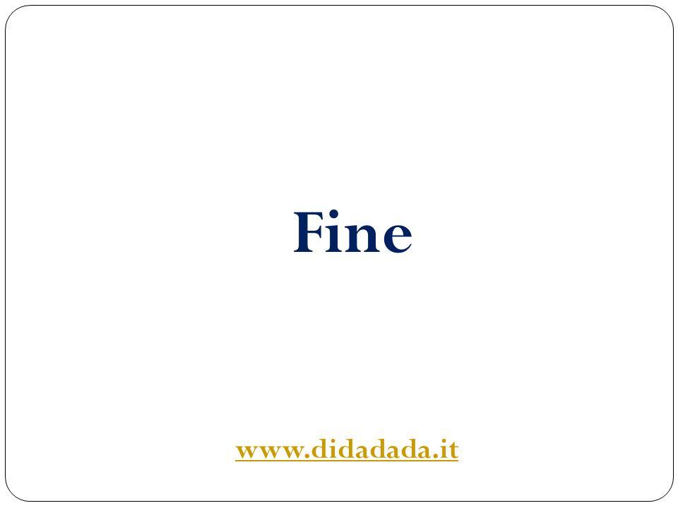 Fine www.didadada.it