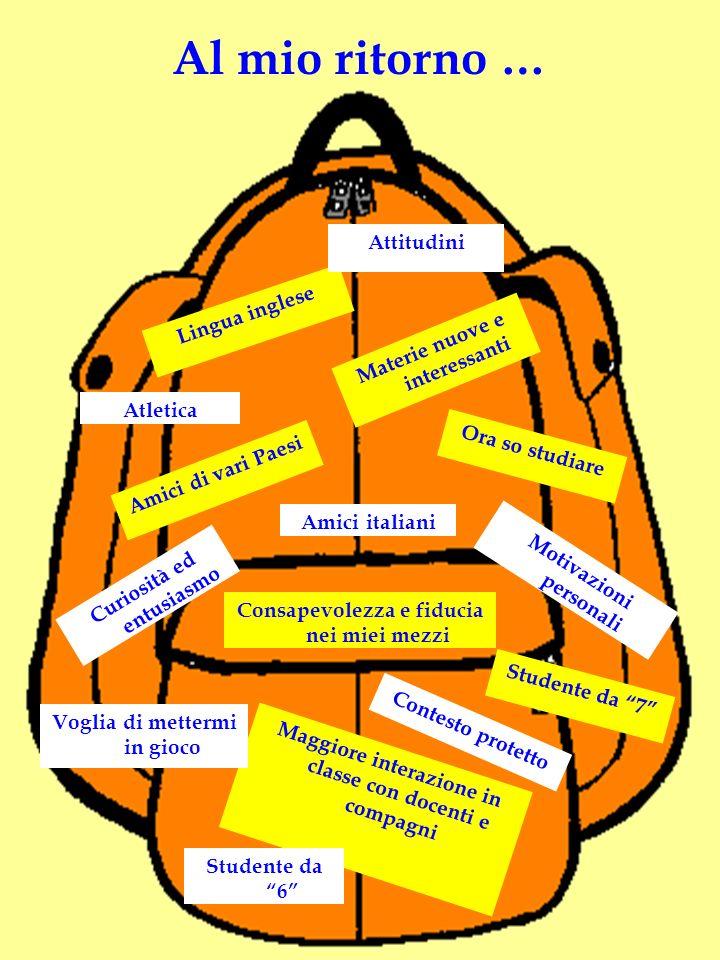 Interesse, disponibilità e collaborazione dei singoli docenti COME E STATA VALORIZZATA LA MIA ESPERIENZA.