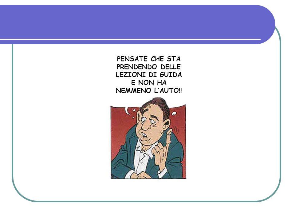 PENSATE CHE STA PRENDENDO DELLE LEZIONI DI GUIDA E NON HA NEMMENO LAUTO!!