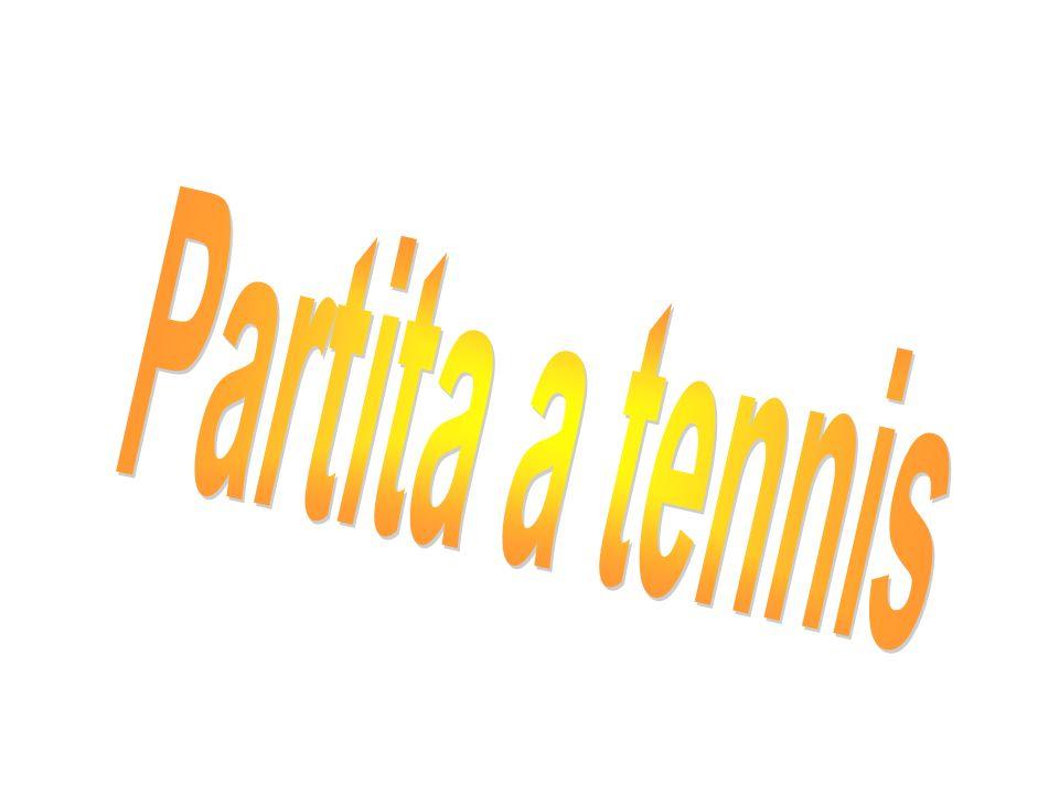 Dopo la partita tra André Agassi e Roger Fédérer ho prenotato due ore di tennis per noi.