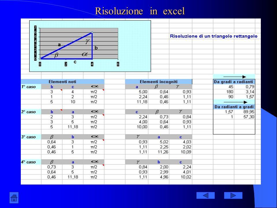 Test di autoverifica N.Test sui triangoli rettangolirisposta 1 La somma dellampiezza dellangolo retto e di uno acuto è uguale a 135°.Quanto misura lal