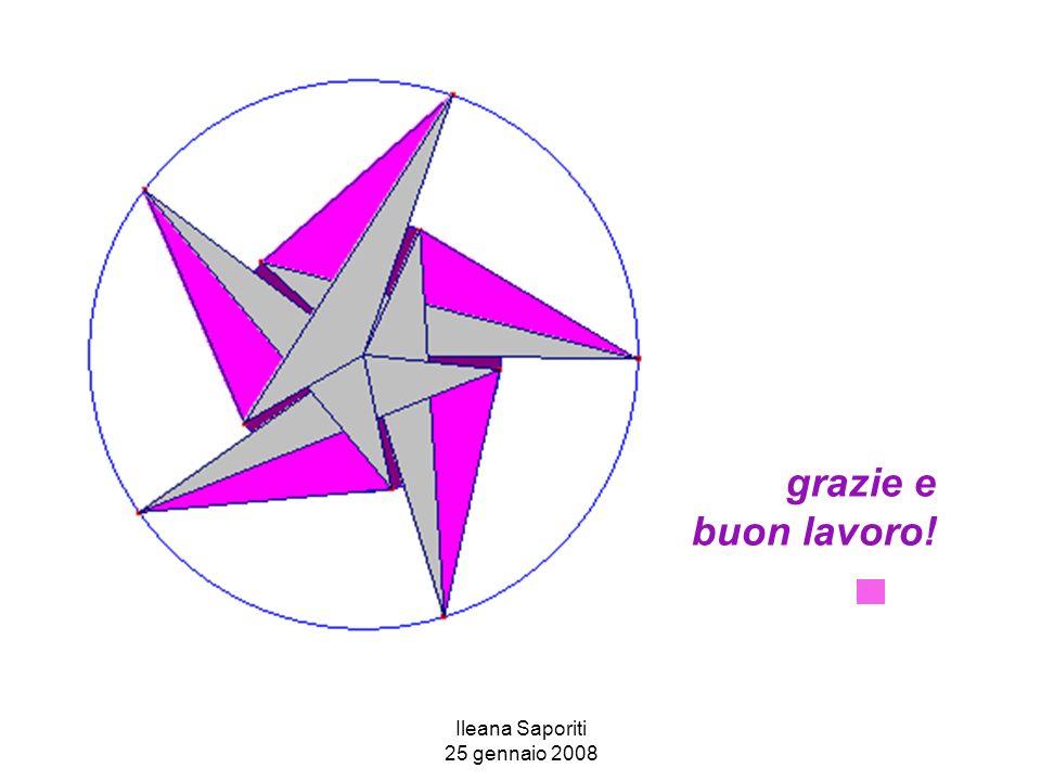 Ileana Saporiti 25 gennaio 2008 grazie e buon lavoro!
