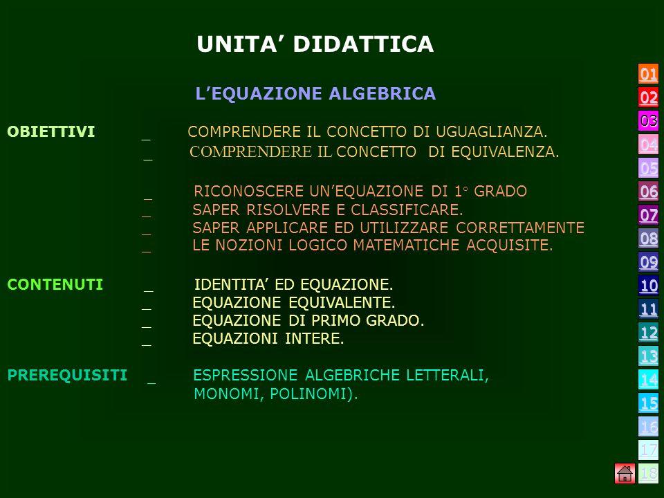PRESENTAZIONE Il progetto consiste nel realizzare ununità di lavoro relativa alla disciplina logico matematica. Si potenzieranno le capacità logiche e