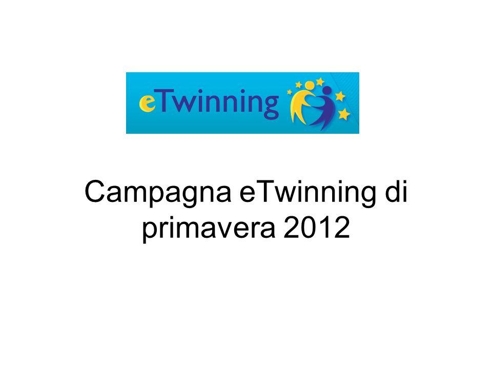 Campagna eTwinning di primavera 2012