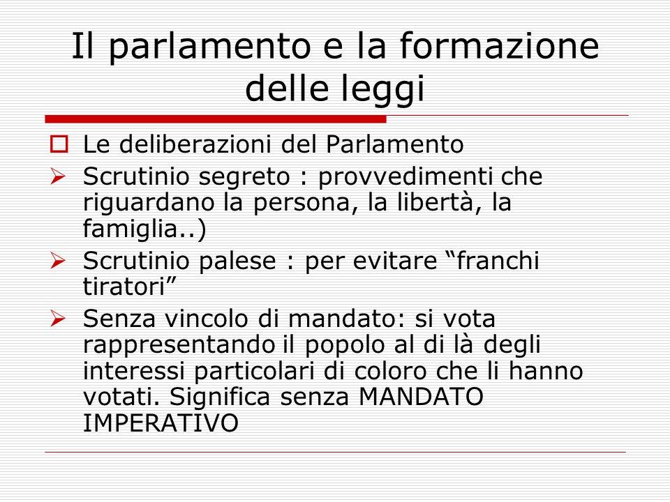 LE 13 COMMISSIONI I.Affari costituzionali, della Presidenza del Consiglio e degli Interni II.Giustizia III.Affari esteri e comunitari IV.Difesa V.Bila