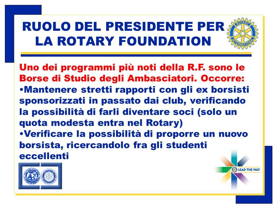 Carlo Michelotti, Gov.Distr.1980 (1996/97) Uno dei programmi più noti della R.F.