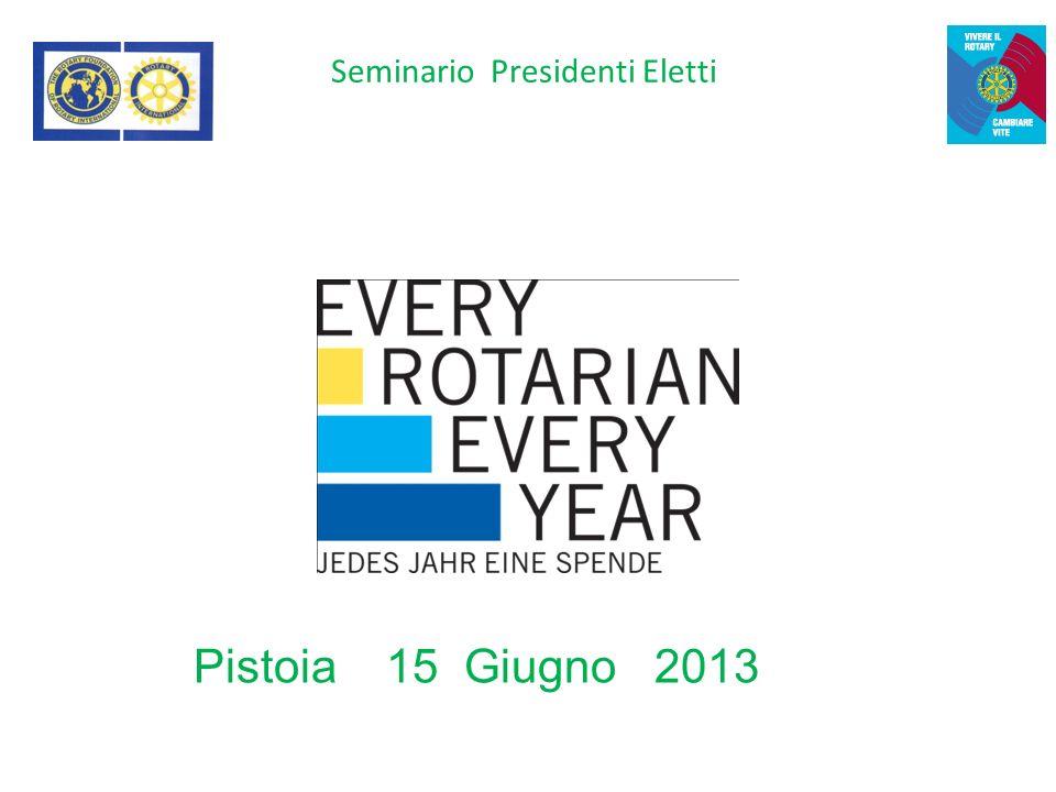 Seminario Presidenti Eletti Pistoia 15 Giugno 2013