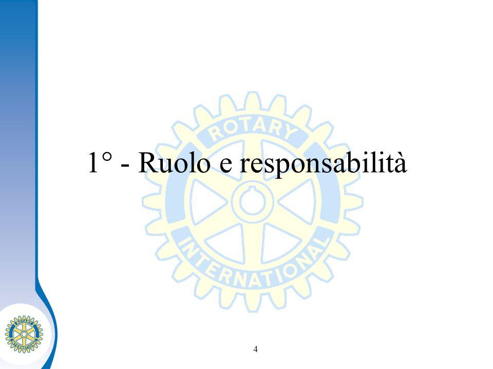 Distretto XXXX Seminario distruzione dei presidenti eletti 4 1° - Ruolo e responsabilità