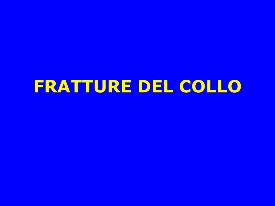 FRATTURE DEL COLLO