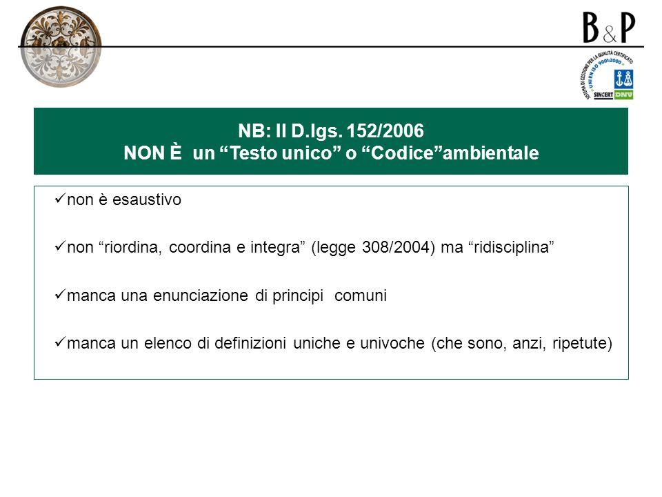 NB: Il D.lgs.
