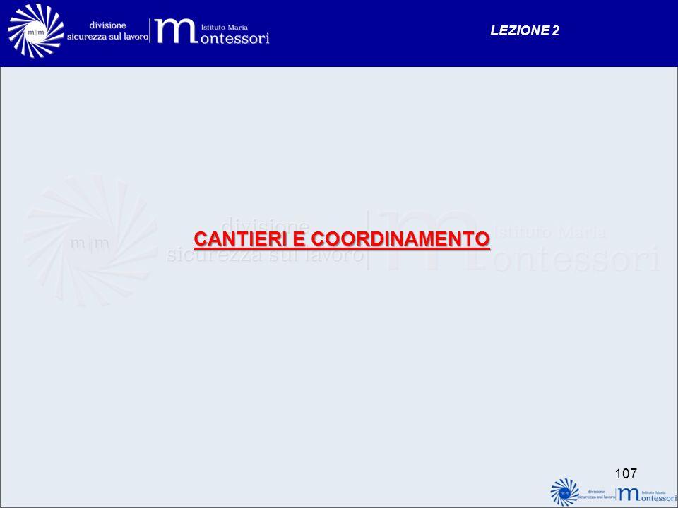 CANTIERI E COORDINAMENTO LEZIONE 2 107