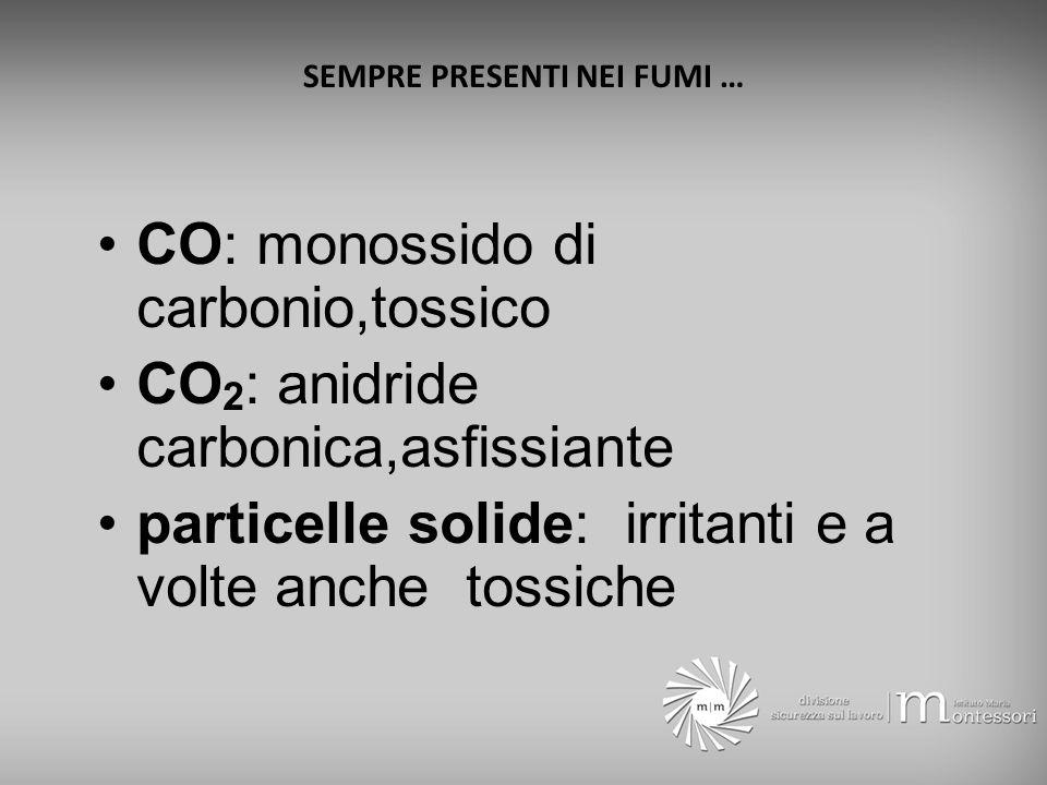 IL FUMO trasporta il calore irrita i bronchi avvelena toglie la visibilità e la prima causa di morte per incendio