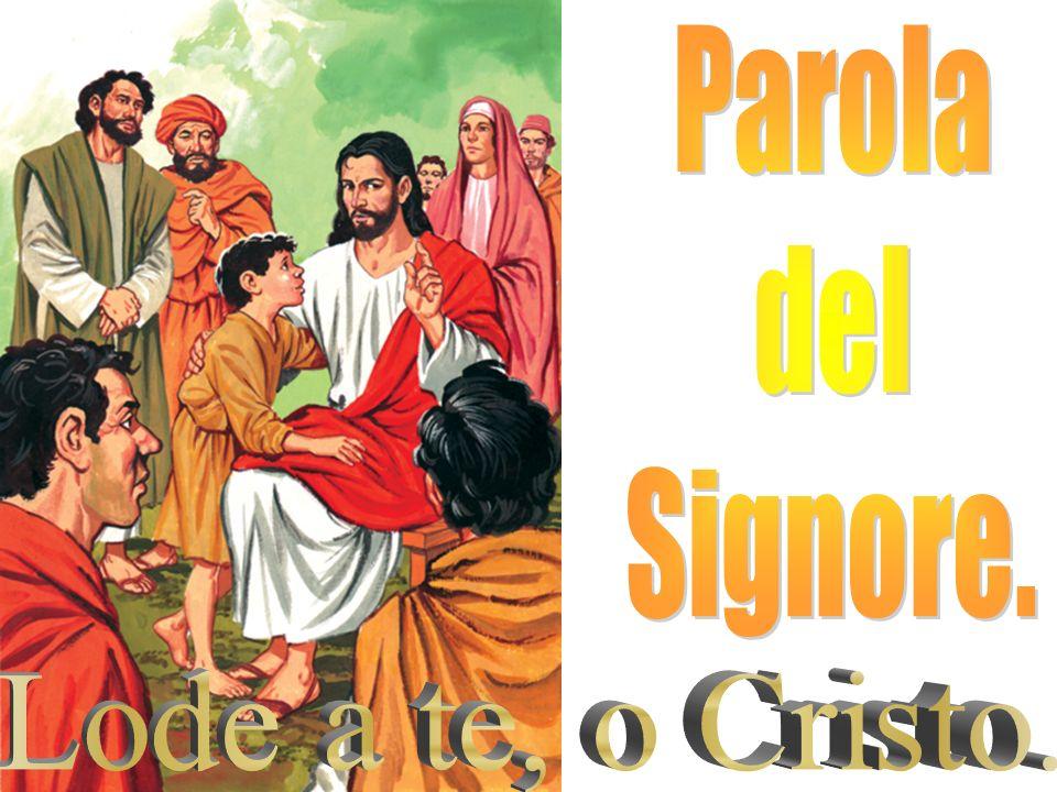 «Chi accoglie uno solo di questi bambini nel mio nome, accoglie me; e chi accoglie me, non accoglie me, ma colui che mi ha mandato».