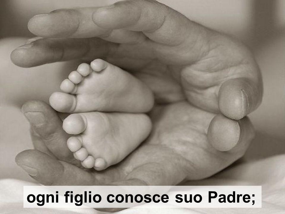 ogni figlio conosce suo Padre;