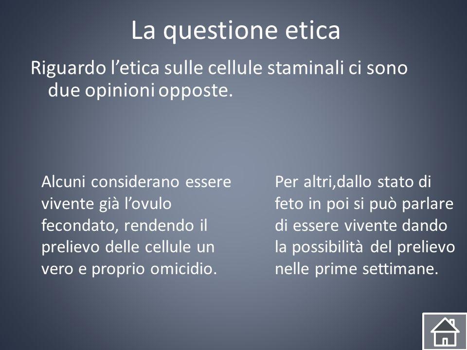 Le nostre domande Perché in Italia è vietato il prelievo.