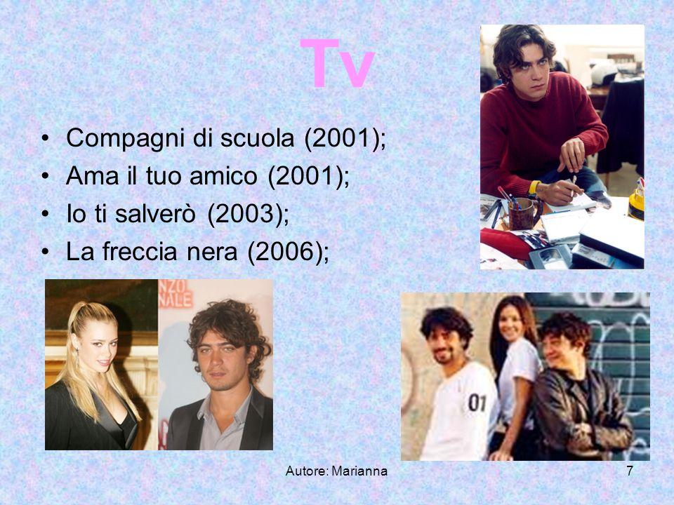 Autore: Marianna8 Teatro Non essere (2003); I tre moschettieri (2004);