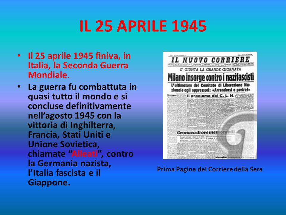 LA COSTITUZIONE E LA RESISTENZA La Costituzione Italiana attuale, nata dalle idee di democrazia e di libertà degli antifascisti, fu elaborata negli an