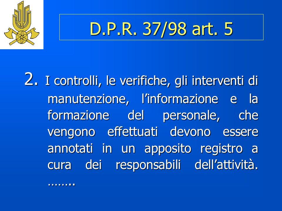 D.P.R.37/98 art. 5 2.
