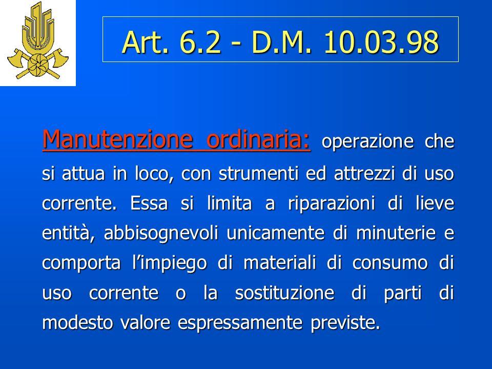 Art.6.2 - D.M.
