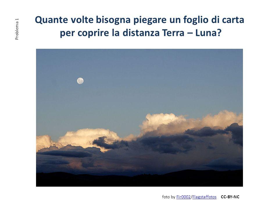 Quante volte bisogna piegare un foglio di carta per coprire la distanza Terra – Luna? foto by Fir0002/Flagstaffotos CC-BY-NCFir0002Flagstaffotos Probl