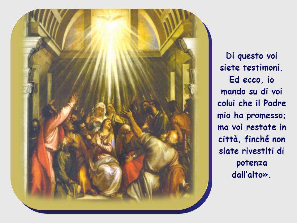 e nel suo nome saranno predicati a tutti i popoli la conversione e il perdono dei peccati, cominciando da Gerusalemme.