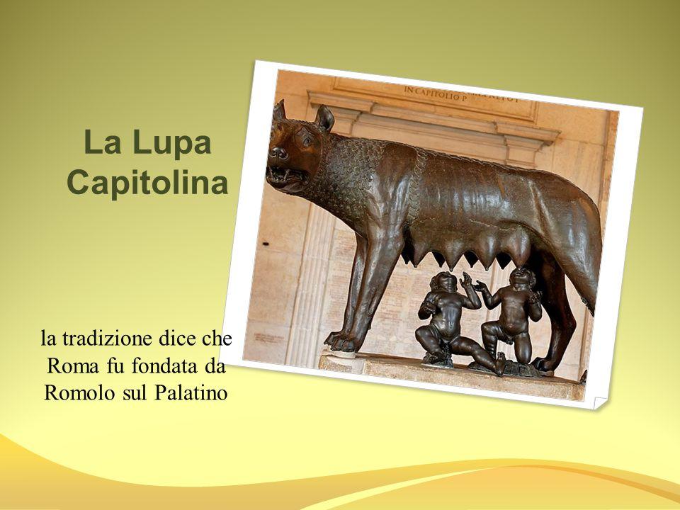 Imporanza a Roma il Campidoglio, si trova su uno dei sette colli di Roma.