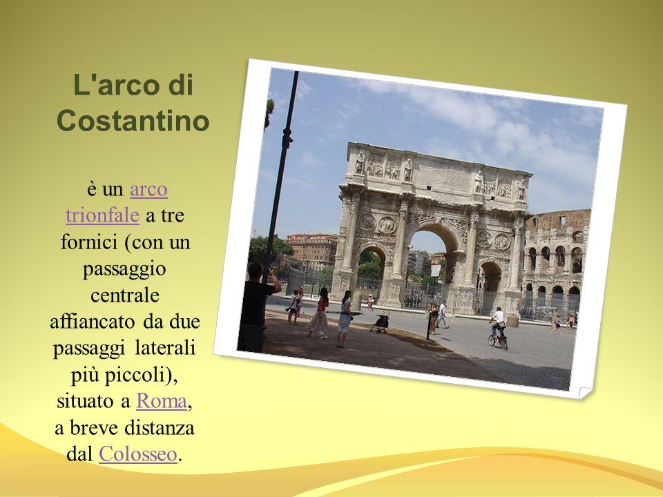 Il Colosseo e il piu famoso monumento dell antica Roma.