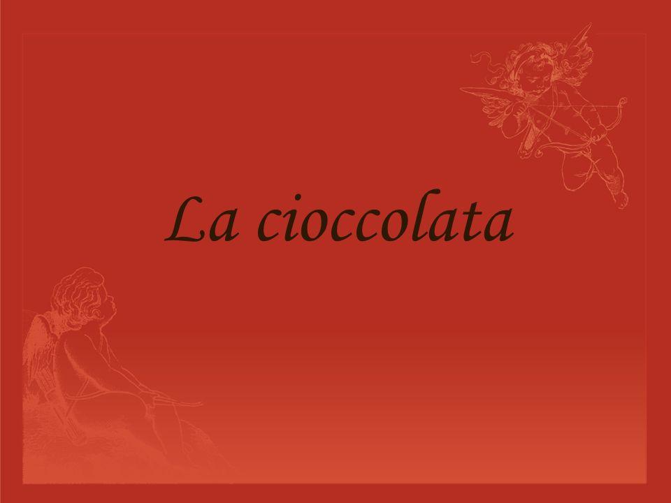 La cioccolata