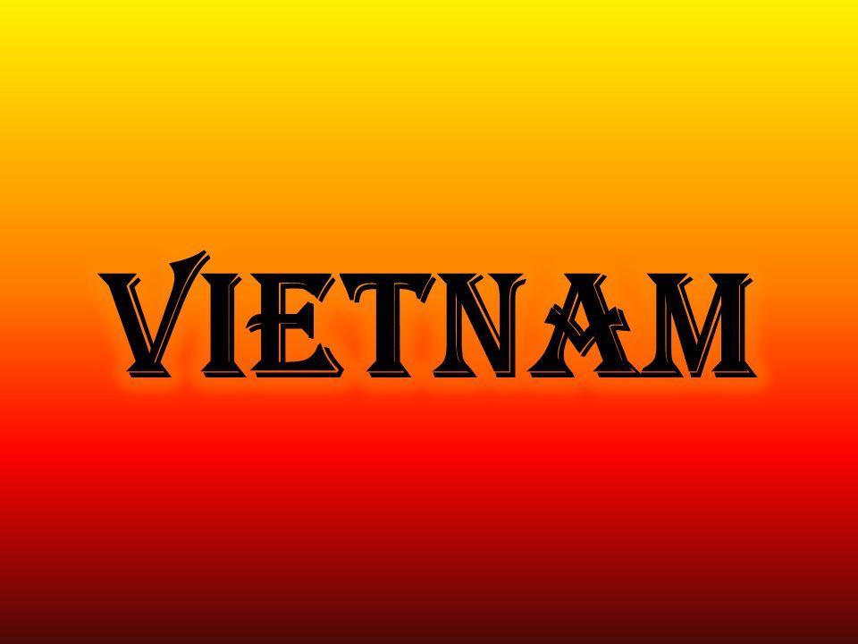 Vietnam, ufficialmente la Repubblica socialista del Vietnam è un paese nel sud- est asiatico, sulla costa del Mar Cinese Meridionale e Golfo di Thailandia.