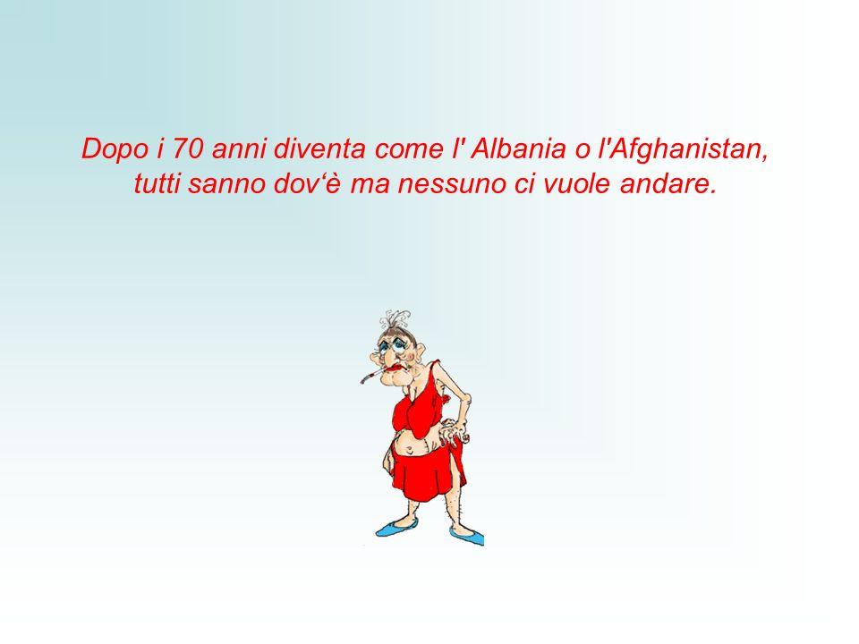 Dopo i 70 anni diventa come l Albania o l Afghanistan, tutti sanno dovè ma nessuno ci vuole andare.