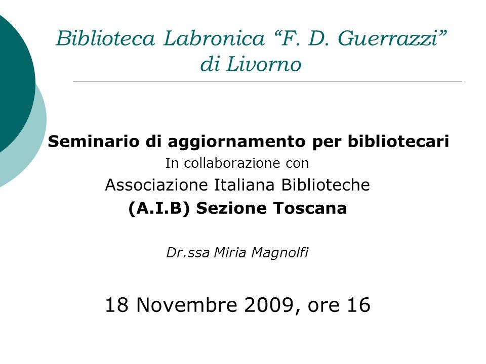 Biblioteca Labronica F.D.