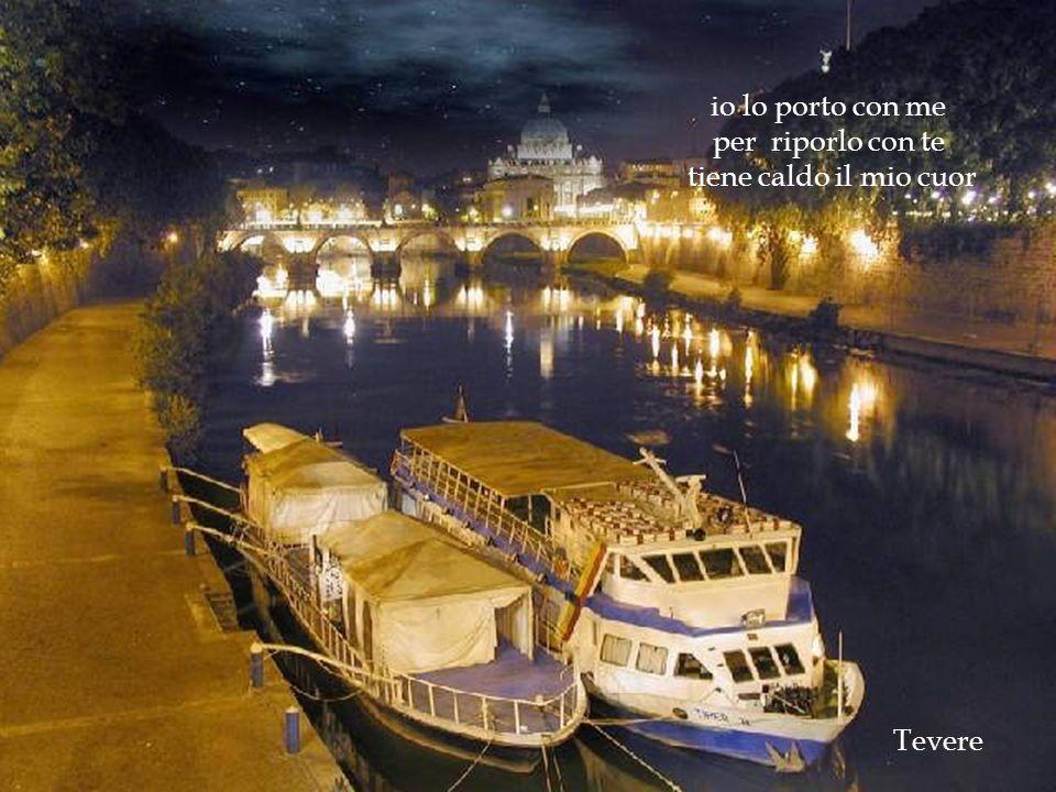 Basilica S. Pietro Lungotevere dorme mentre il fiume cammina