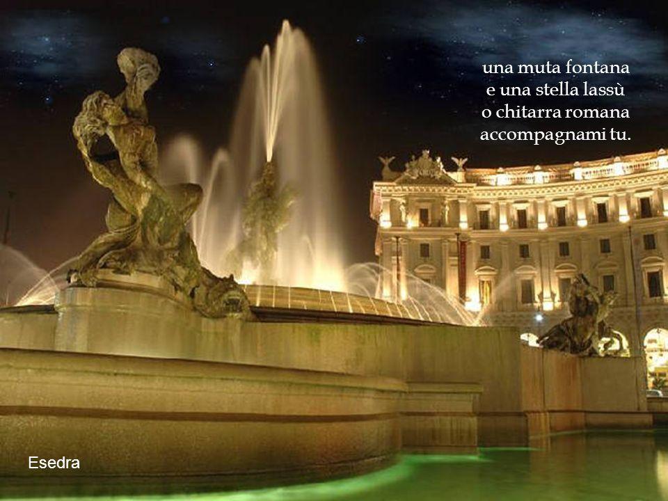 Castel S. Angelo solitario il mio cuor disilluso damor vo nellombra a sognar