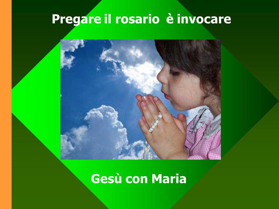 Sullo sfondo dell Ave Maria passano davanti agli occhi dellanima i principali episodi della vita di Gesù
