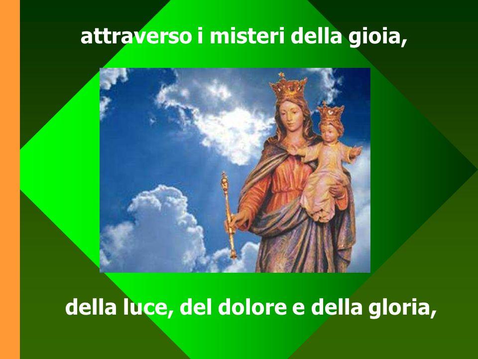 Pregare il rosario è invocare Gesù con Maria