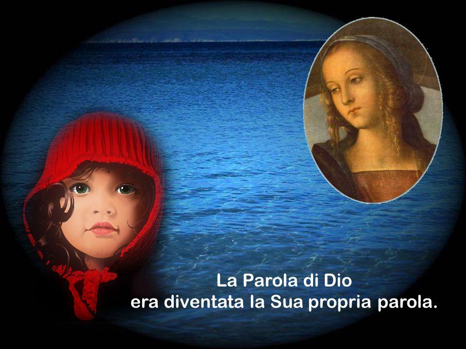 Maria rispondeva usando la Parola di Dio.