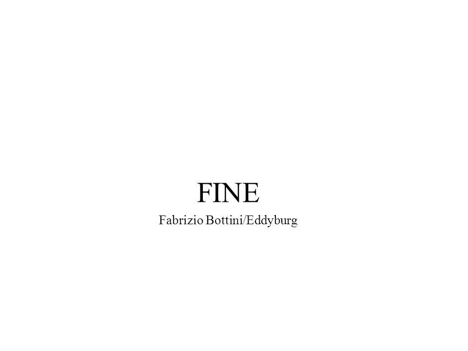 FINE Fabrizio Bottini/Eddyburg