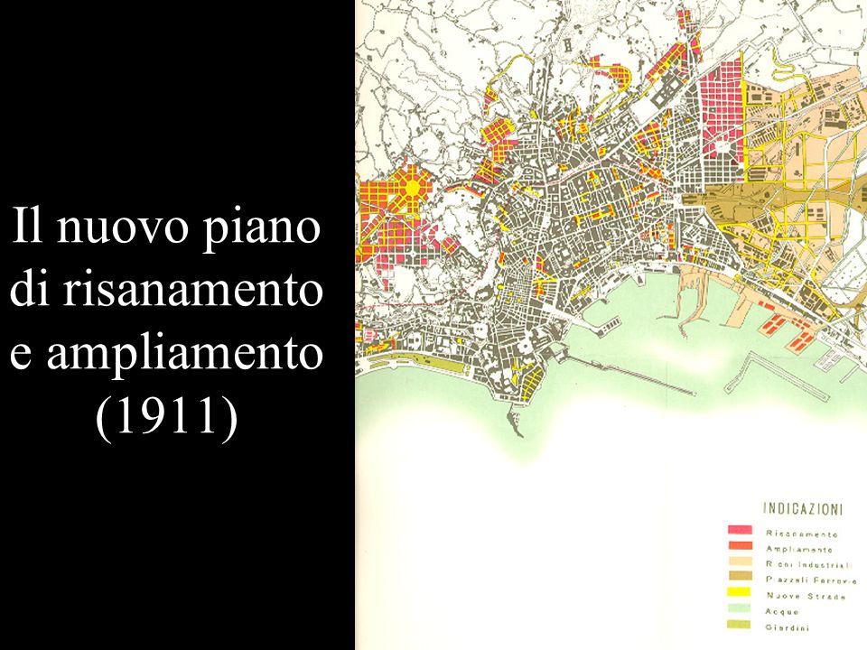 Il nuovo piano di risanamento e ampliamento (1911)