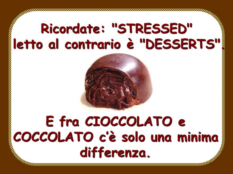 Le fragole, le scorzette darancia e le uvette ricoperte di cioccolato, nonché i boeri, sono tutti della categoria frutta quindi mangiatene quanti ne v