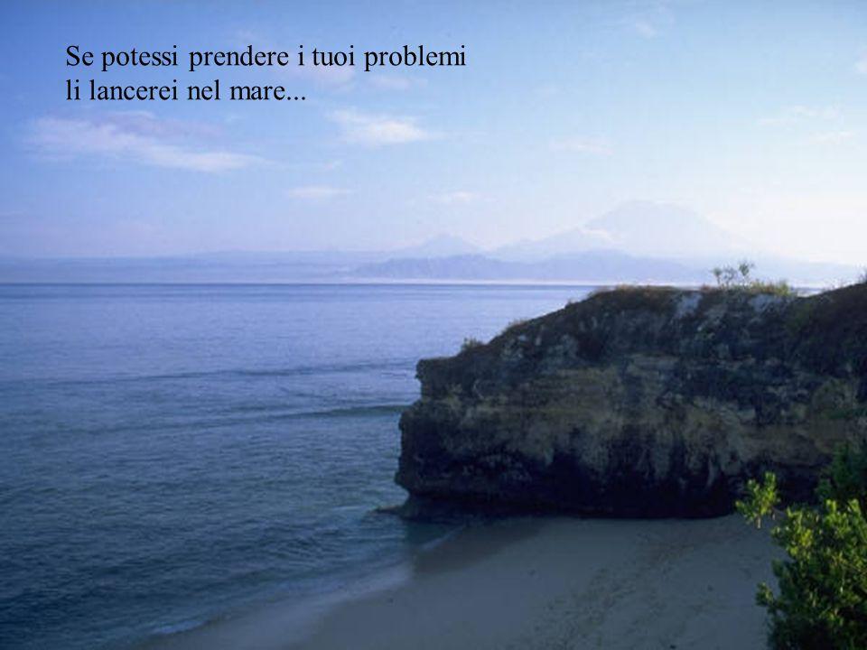 Se potessi, costruirei una montagna che potresti considerare di tua piena proprietà. Un posto dove trovare serenità, un posto dove stare da soli.