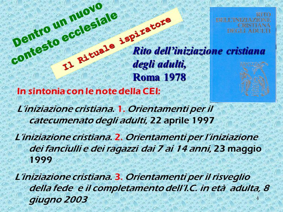 24 FASE PREPARATORIA anno 0 Diocesi di Cremona PRIMO TEMPO 1.