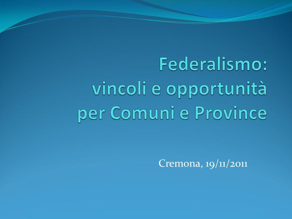 Cremona, 19/11/2011