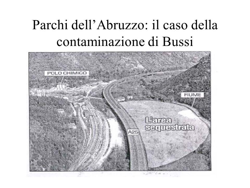 Parchi dellAbruzzo: il caso della contaminazione di Bussi