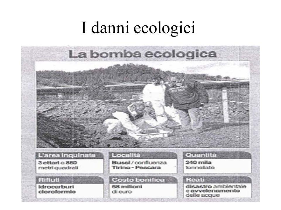 I danni ecologici