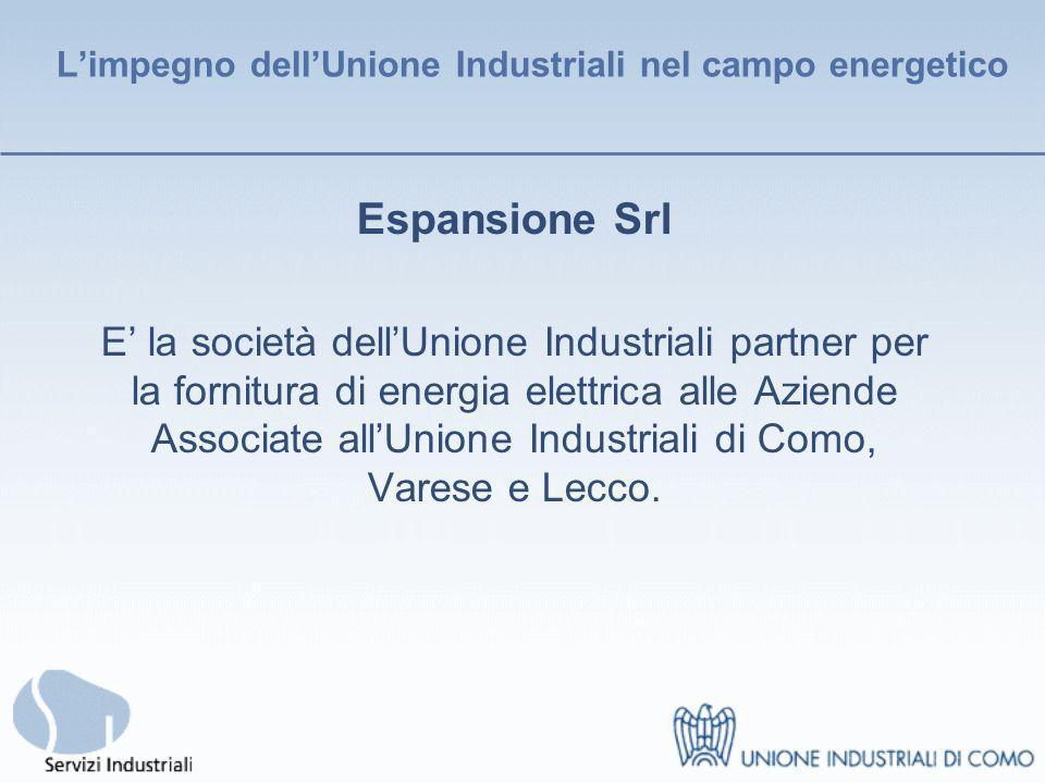 Sportello Energia 1/2 Sportello consulenziale creato dallUnione Industriali di Como al fine di affrontare in modo competente ed aggiornato i temi del risparmio energetico.