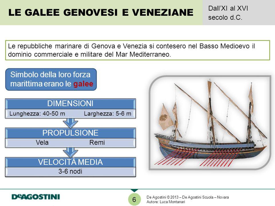 Le repubbliche marinare di Genova e Venezia si contesero nel Basso Medioevo il dominio commerciale e militare del Mar Mediterraneo. Simbolo della loro