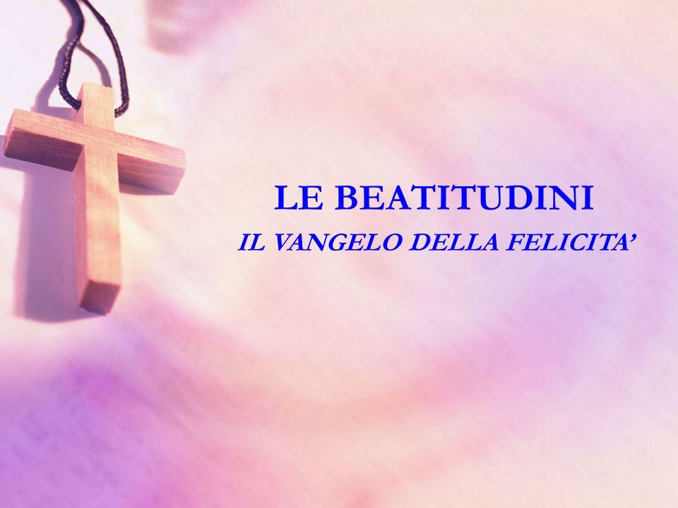 Siamo alla conclusione della serie delle beatitudini secondo Matteo; lottava, come dicevamo già la volta scorsa nellintroduzione, conclude la serie.