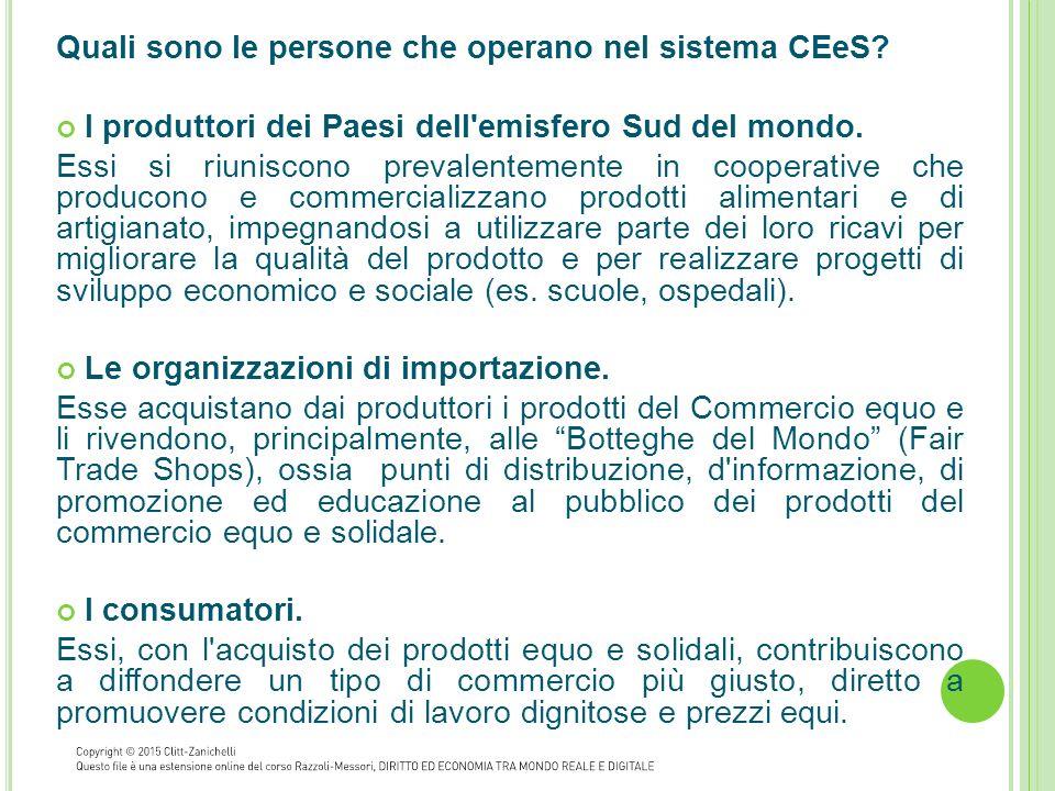 Quali sono i prodotti del CEeS.