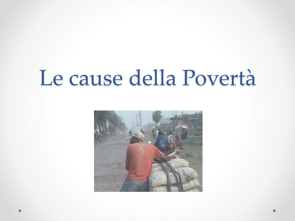 Le cause della Povertà